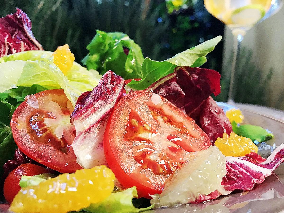 Ensalada de Tomates y Cítricos
