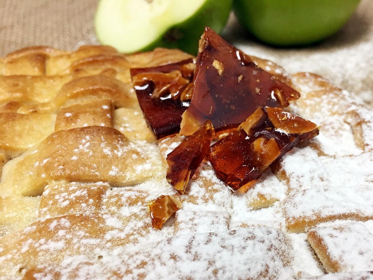 Apple Pie con Praliné de Avellanas (Grande)
