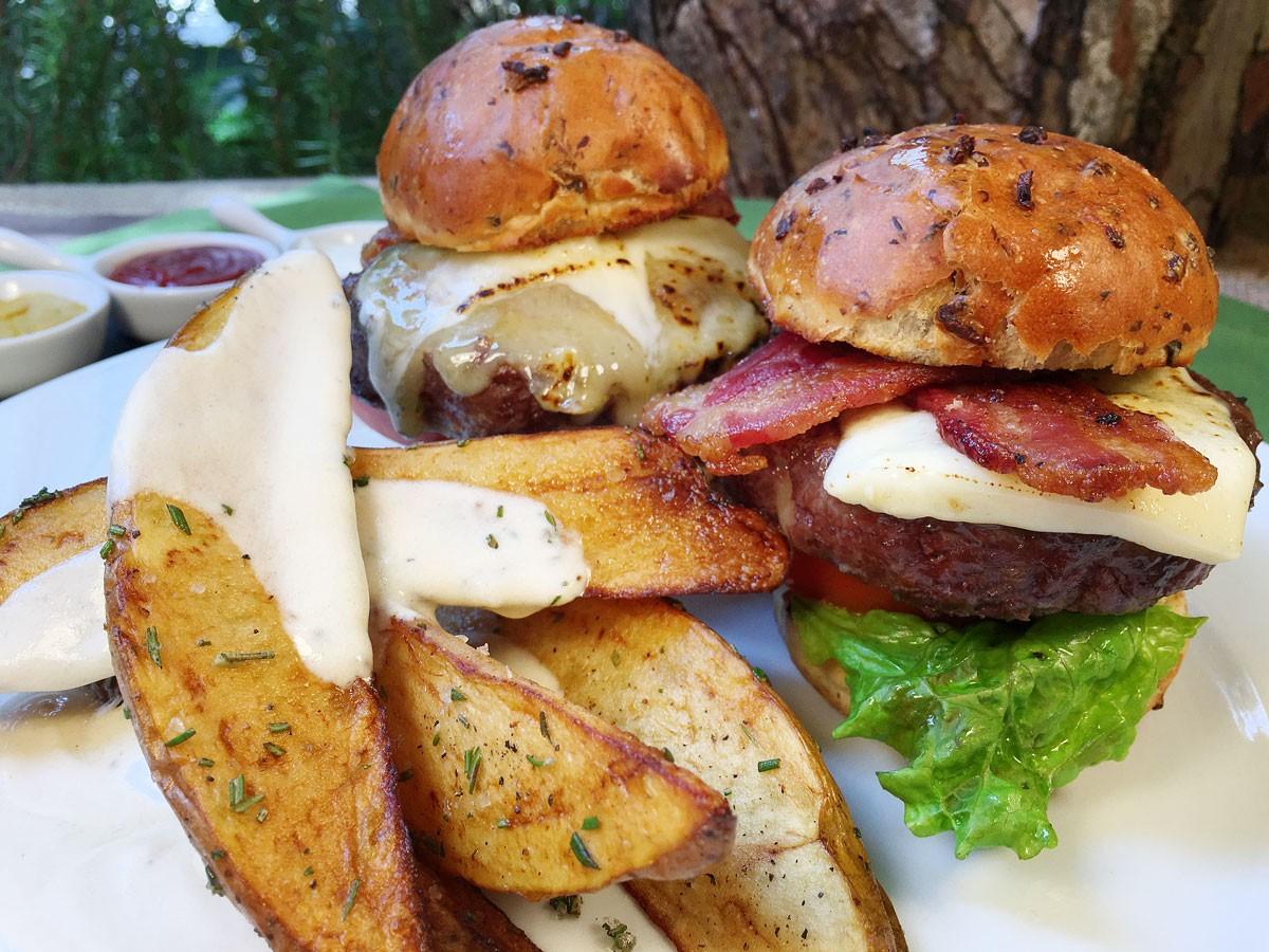 Pilón Burger en Pan de Setas