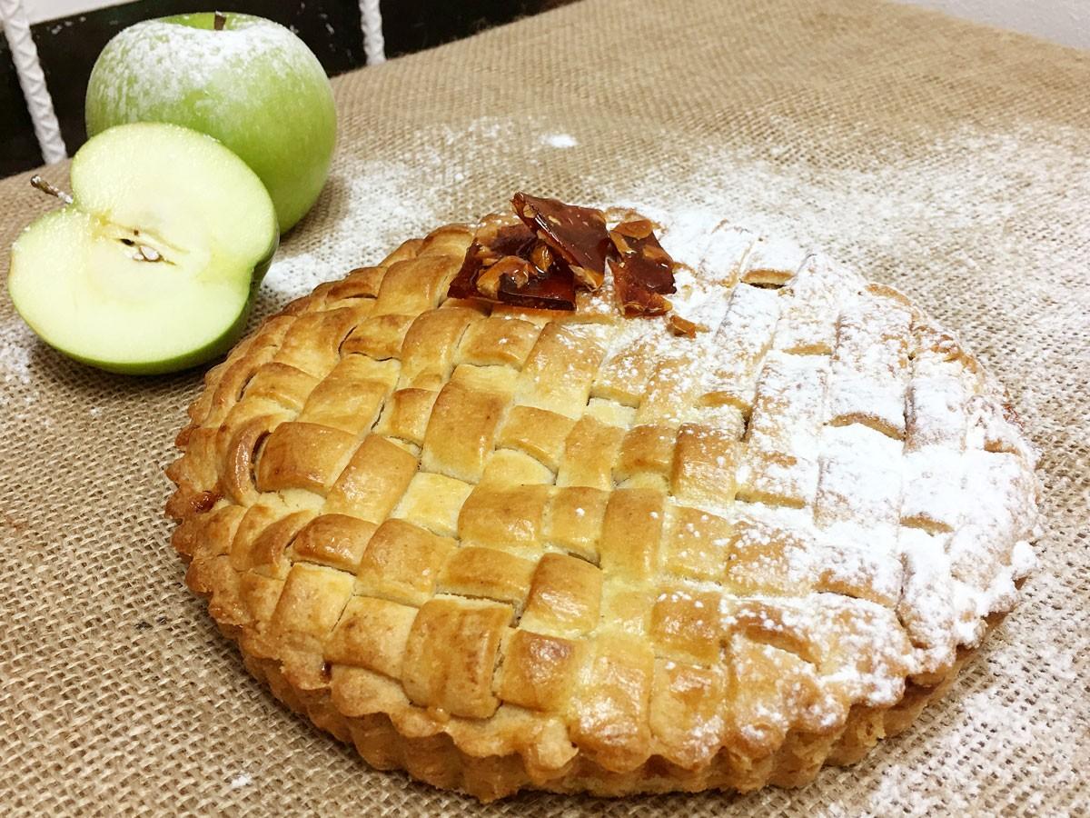 Apple Pie con Praliné de Avellanas