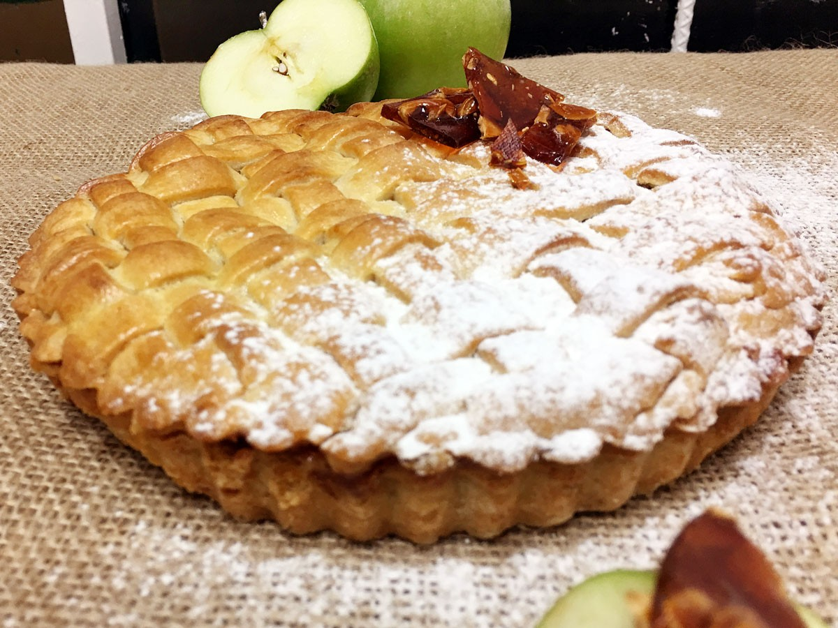Apple Pie con Praliné de Avellanas
