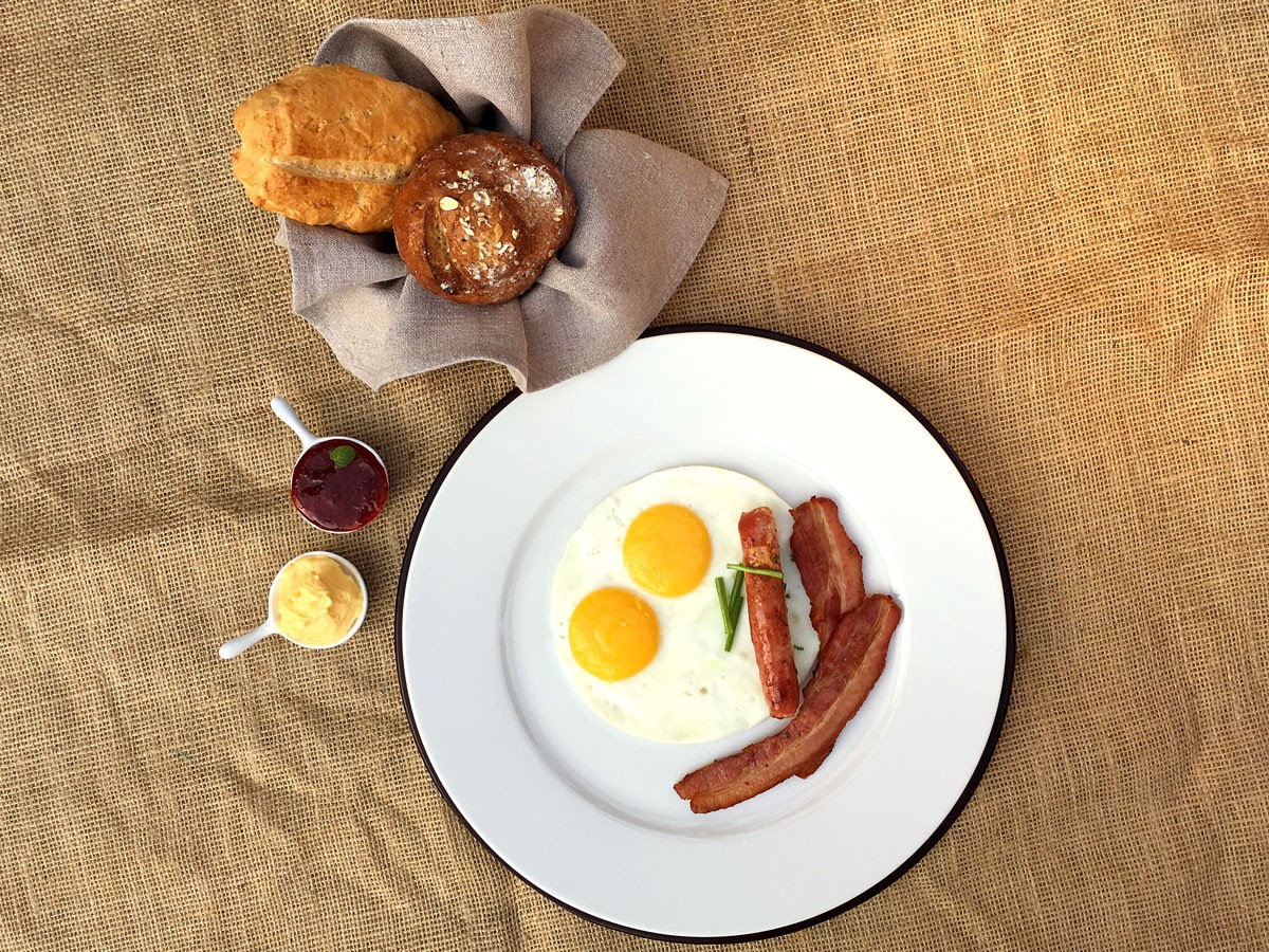 Desayuno estilo Canadiense